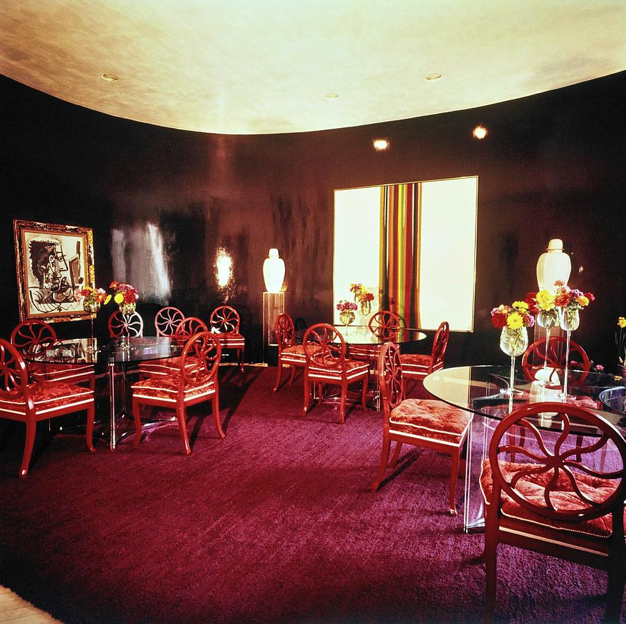 Cowles Dining Room Photograph by Horst P. Horst