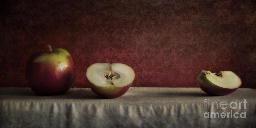Cutted Photograph - Cox Orange Apples by Priska Wettstein