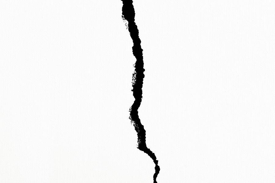 Crack Photograph - Crack by Alexander Senin