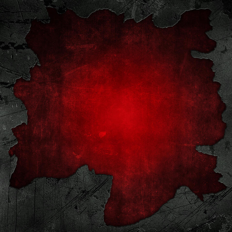 cracked concrete and red grunge background digital art by