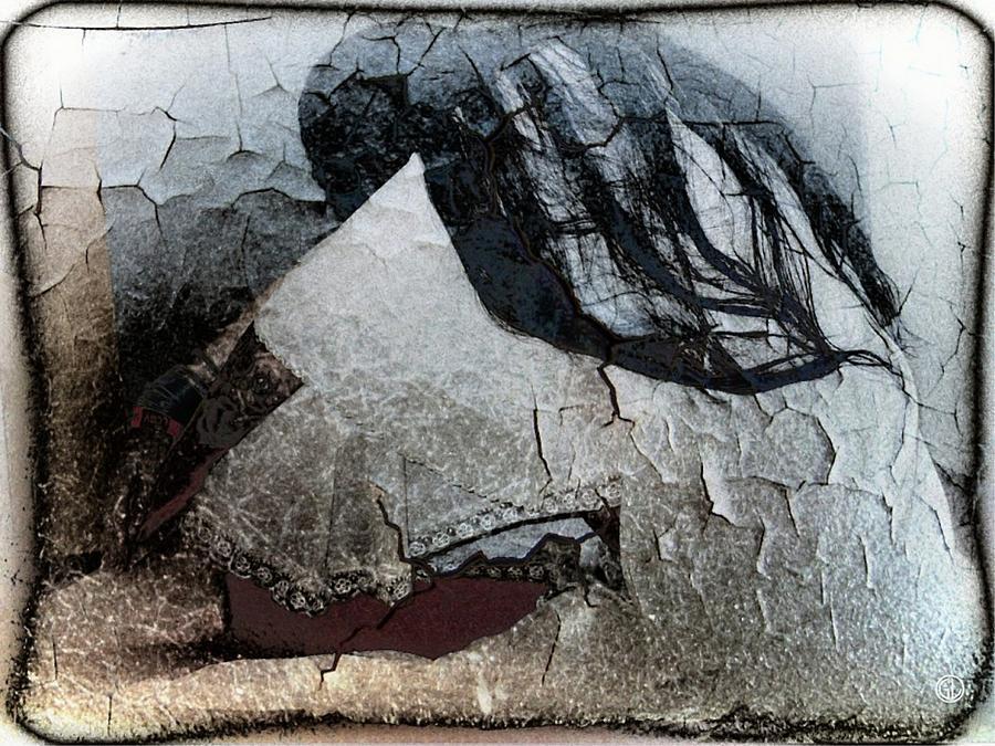 Woman Digital Art - Cracked Dreams by Gun Legler
