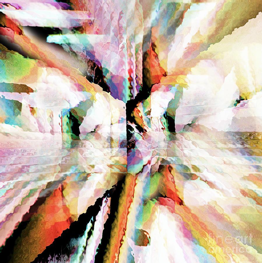Prophetic Digital Art - Cracks by Margie Chapman
