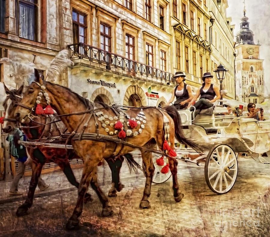 Cracow Grodzka Street Photograph