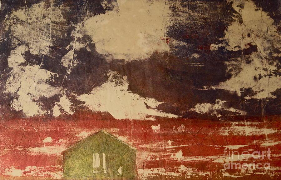Cranberry Season Painting by Deborah Talbot - Kostisin