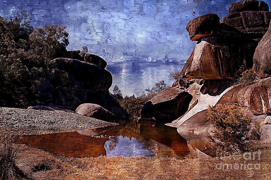 Rocks Photograph - Cranky Rocks by Ben Yassa