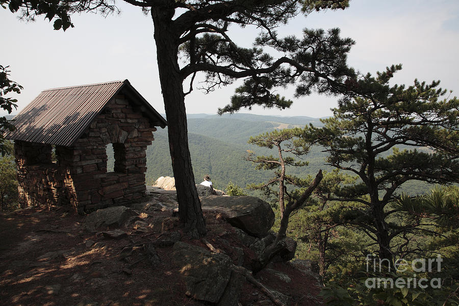 Appalachian Photograph - Cranny Crow Overlook At Lost River State Park by William Kuta
