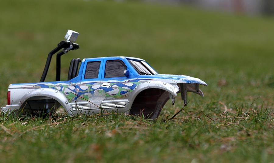 Toy Photograph - Crashed And Total by Ramabhadran Thirupattur