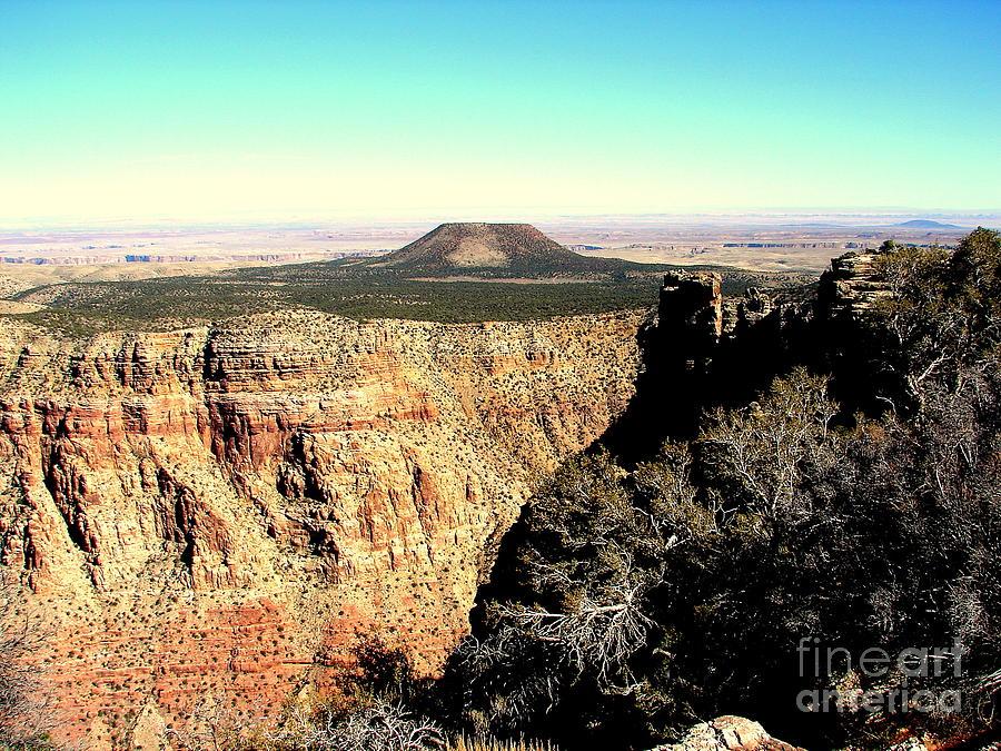 Crater Photograph - Crater At Grand Canyon by John Potts