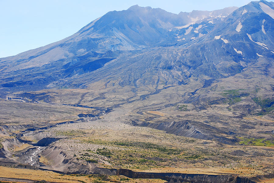 Crater At Mount St. Helens 2012 Photograph