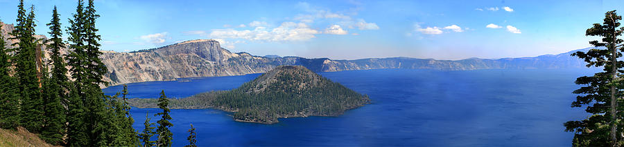 Crater Lake Photograph - Crater Lake by Melisa Meyers