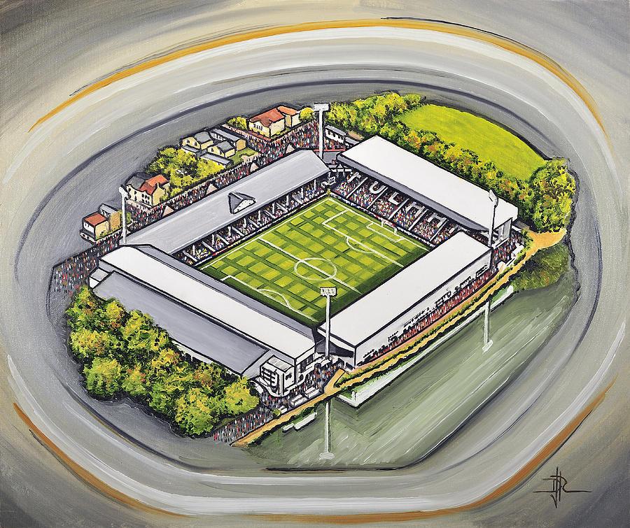 Fullham FC Print FFC Craven Cottage