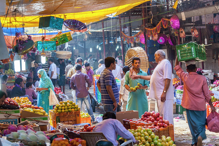Crawford Market, Mumbai, India Photograph by Peter Adams
