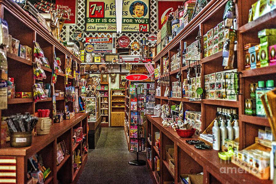 Crawley Photograph - Crawley General Store by Tamyra Ayles