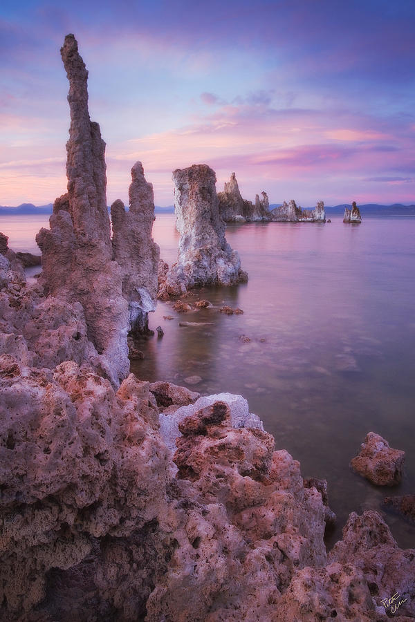 Mono Lake Photograph - Crayola Funhouse by Peter Coskun