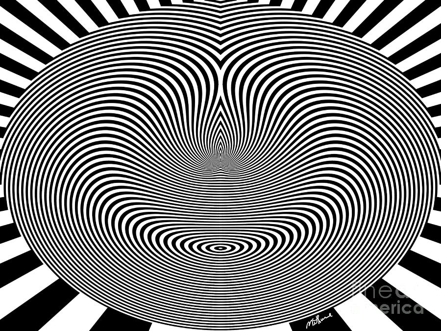 Crazy Circles Digital Art by Methune Hively