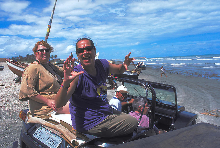 Crazy Fun In A Dune Buggy by Carl Purcell