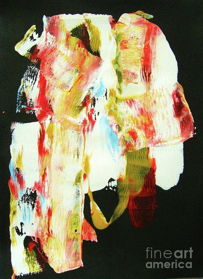 Abstraction Painting - Crazy Horse  An American Hero by Roberto Prusso