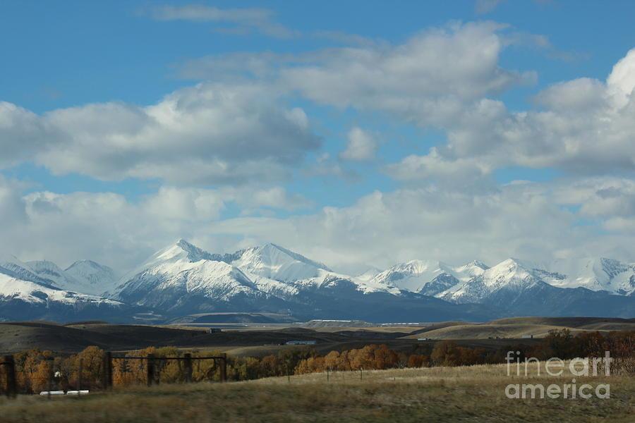 Mountain Photograph - Crazy Mountains 1 by Brenda Henley