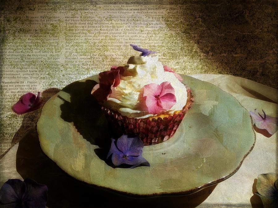 Cake Photograph - Creamy Cake by Barbara Orenya