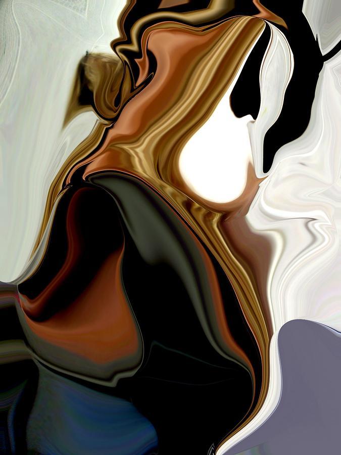 Etc. Digital Art - Creamy by HollyWood Creation By linda zanini