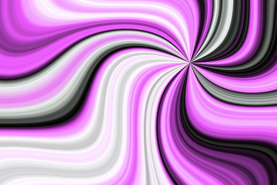 Fractal Digital Art - Creamy Pink Graphic by Gabiw Art