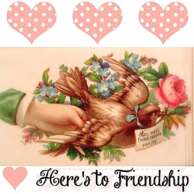 Love Photograph - Created This #friendship Image From A by Teresa Mucha