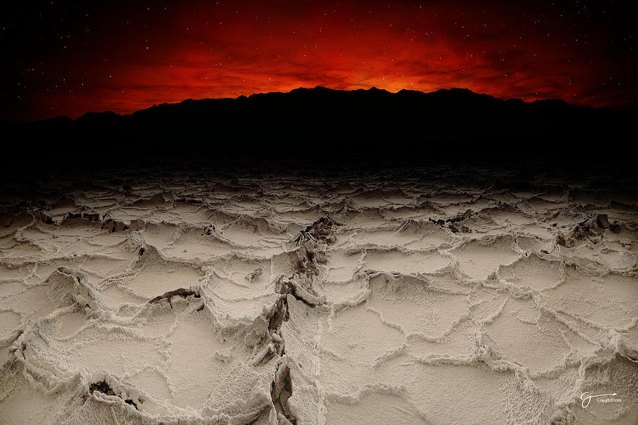 Death Valley Photograph - Creation - Craigbill.com - Open Edition by Craig Bill