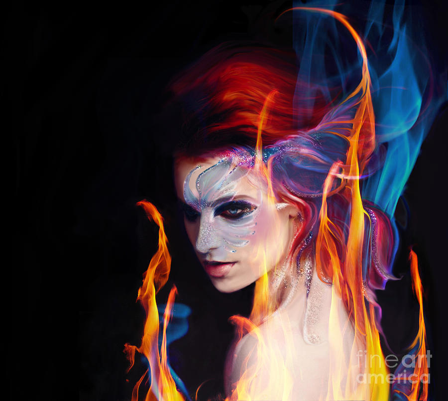 Creation Fire and Flow by Jaimy Mokos