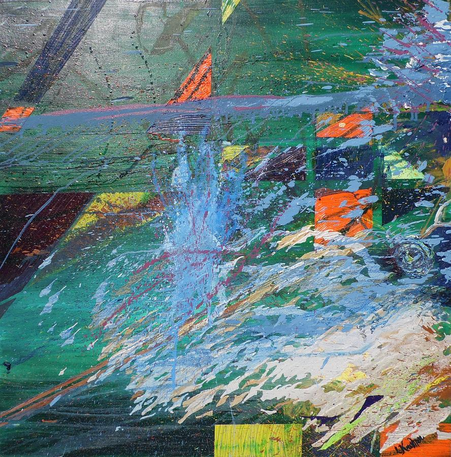 Abstract Painting - Creation by Lisa Kramer