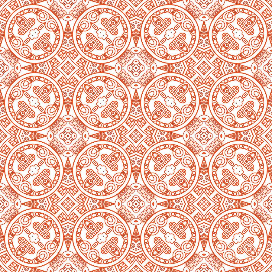 Symbol Digital Art - Creative Design Of A Retro Background by Elic