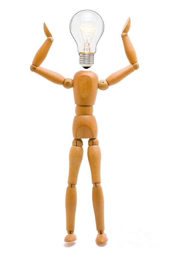 Light Sculpture - Creativity by Shawn Hempel