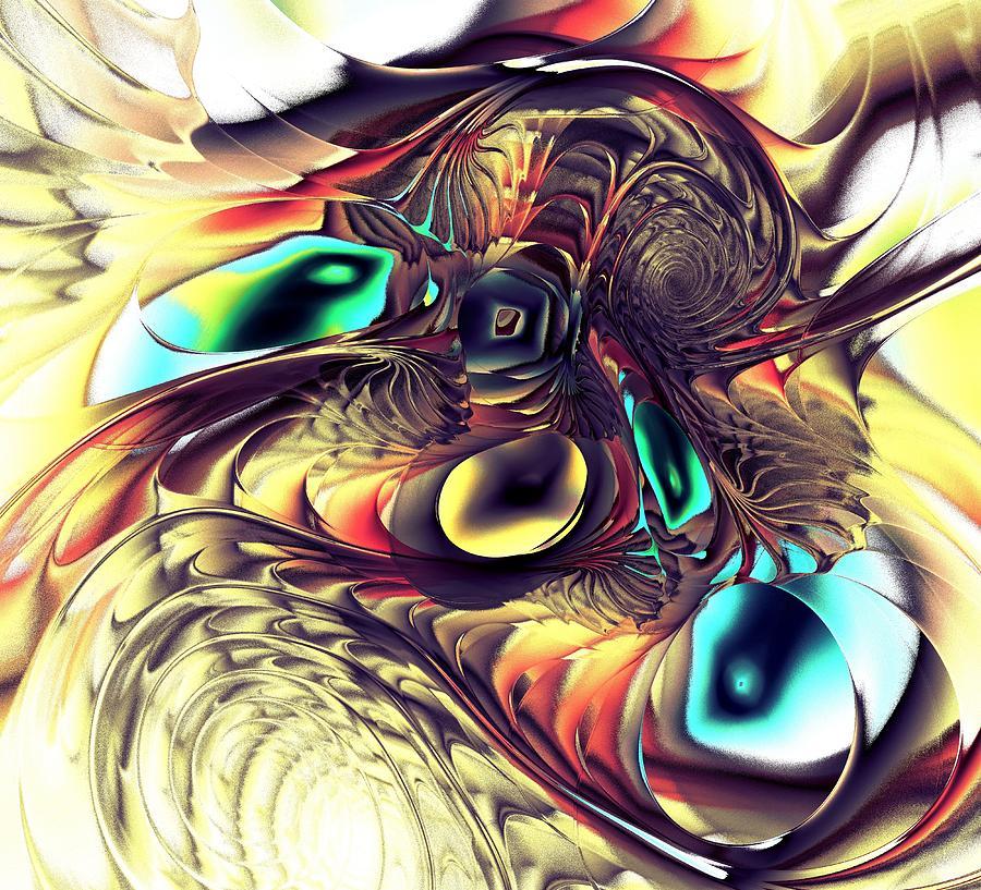 Malakhova Digital Art - Creature by Anastasiya Malakhova