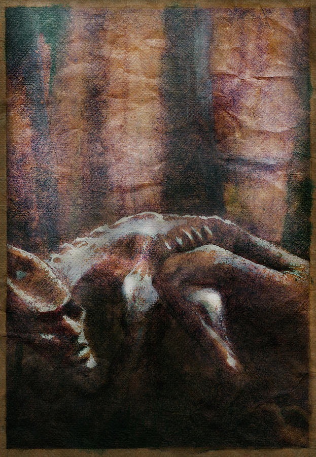 Creature Mixed Media - Creature by Eddie Rifkind