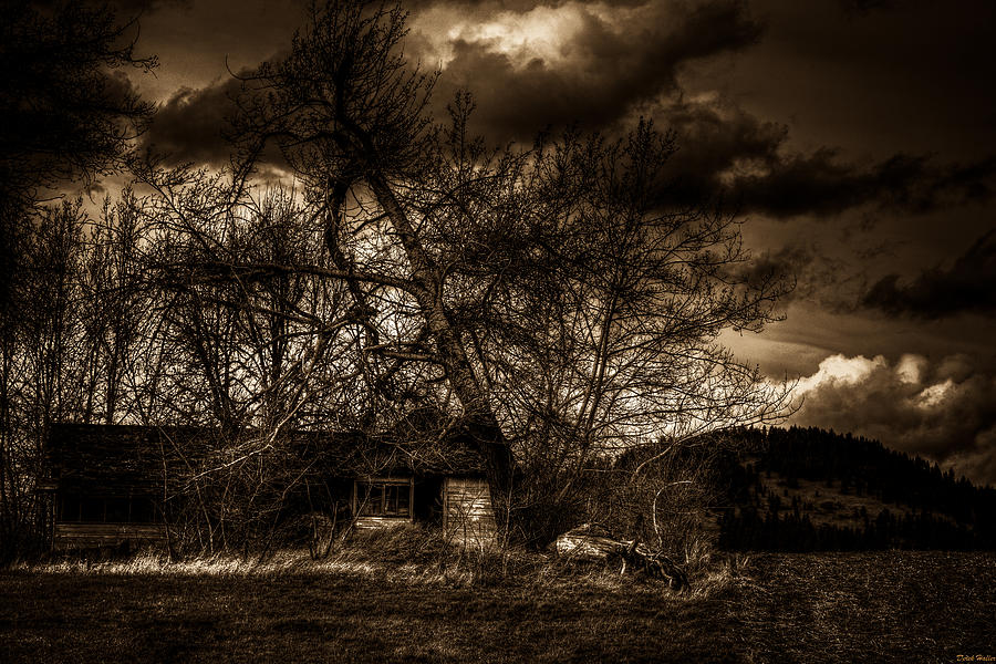 Scary Photograph - Creepy House One by Derek Haller