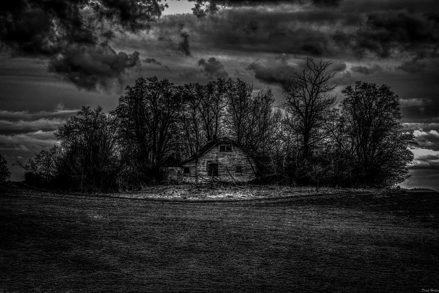 Creepy Photograph - Creepy House Two by Derek Haller