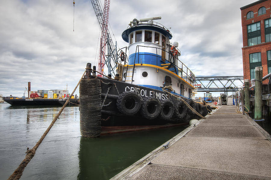 Tug Photograph - Creole Miss by Eric Gendron