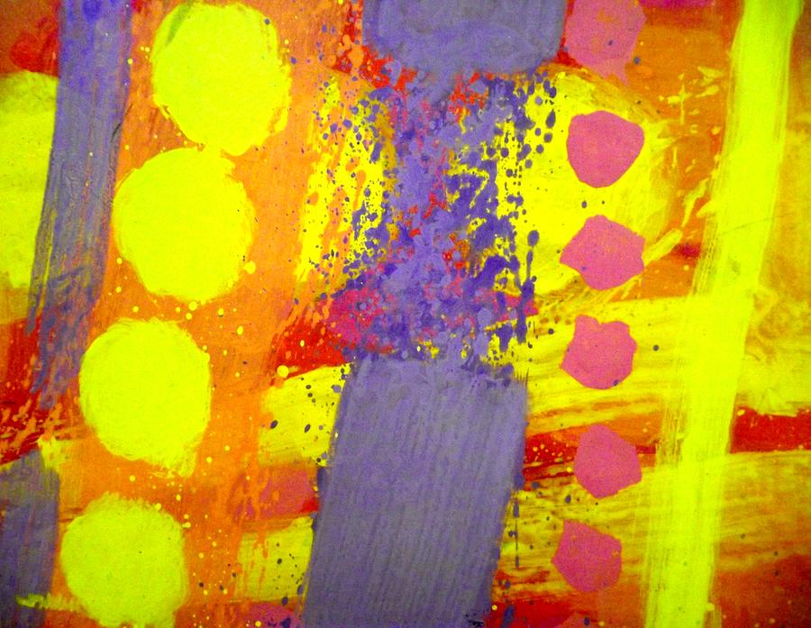 Abstract Painting - Crepuscule by John  Nolan