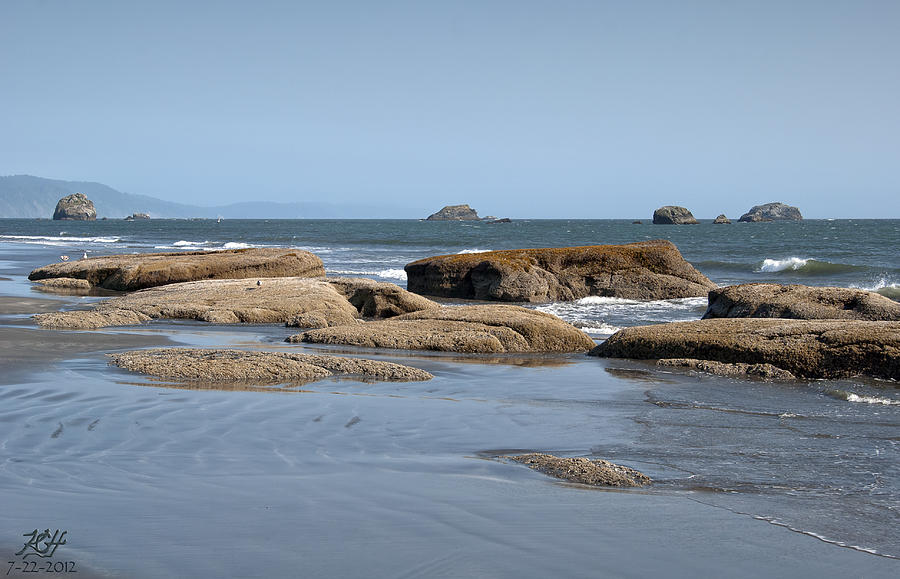 Ocean Photograph - Crescent City by Kenneth Hadlock
