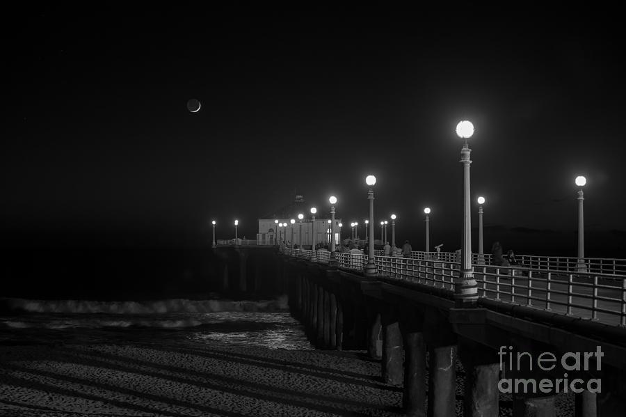 Crescent Moon Photograph - Crescent Moon by Shishir Sathe