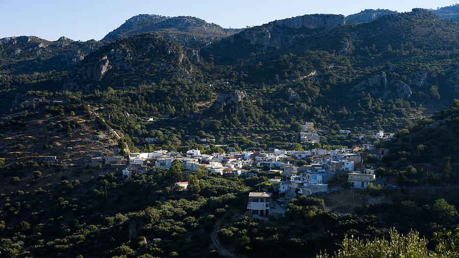 Cretan Village Photograph