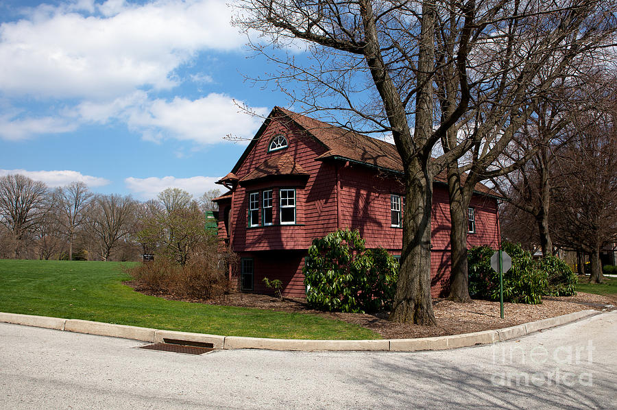Haverford Photograph - Cricket Building At Haverford College by Kay Pickens