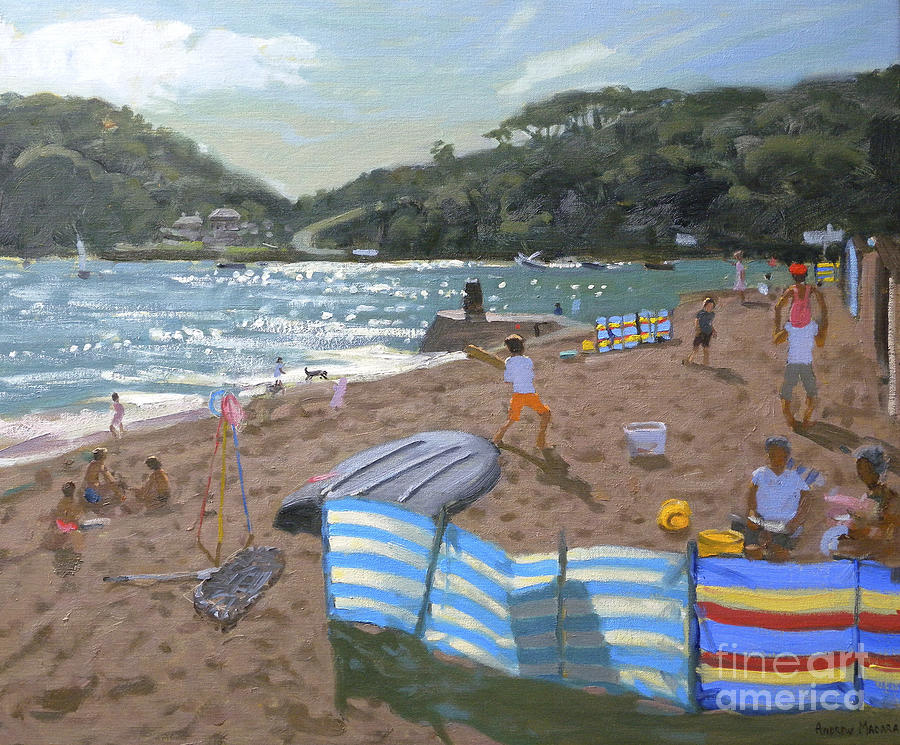 Sun Painting - Cricket Teignmouth by Andrew Macara