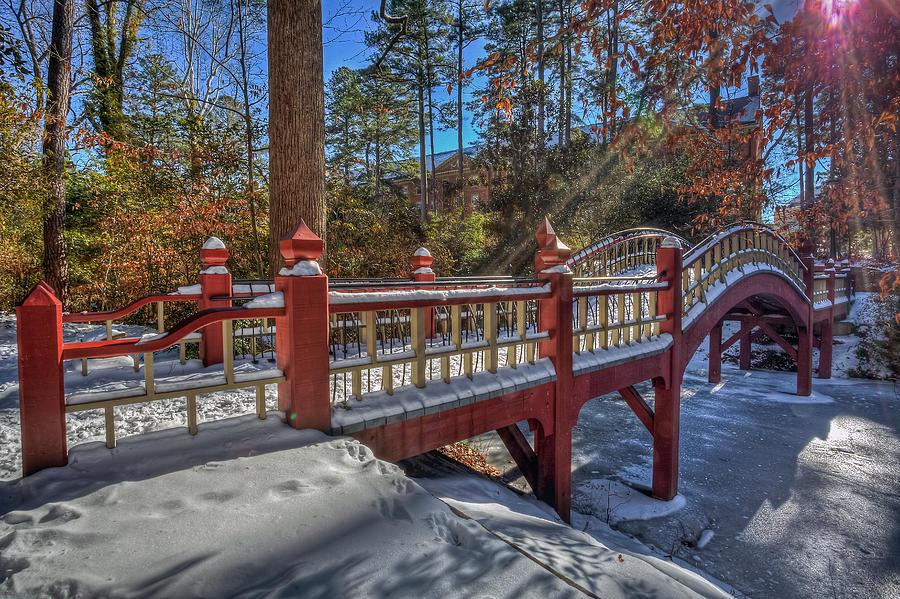 Crim Dell Photograph - Crim Dell Bridge William And Mary by Jerry Gammon