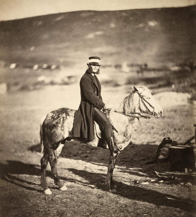 1855 Photograph - Crimean War Postmaster by Granger