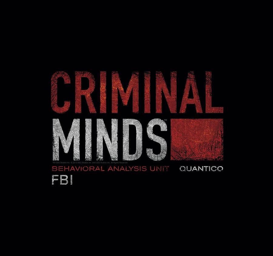 Criminal Minds Digital Art - Criminal Minds - Title Card by Brand A