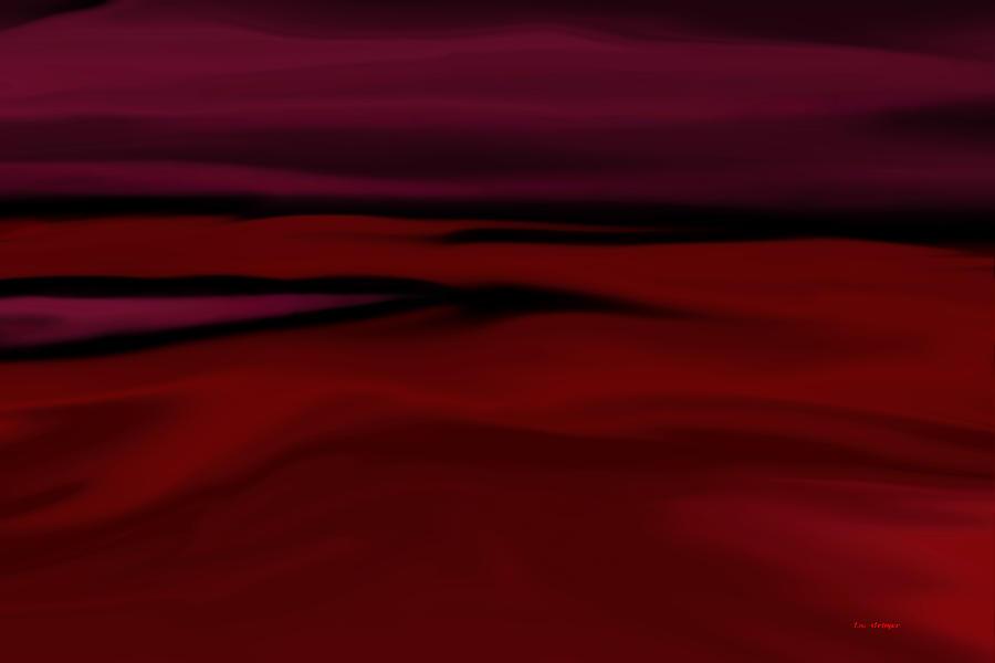 Crimson Painting - Crimson Fog by Tim Stringer