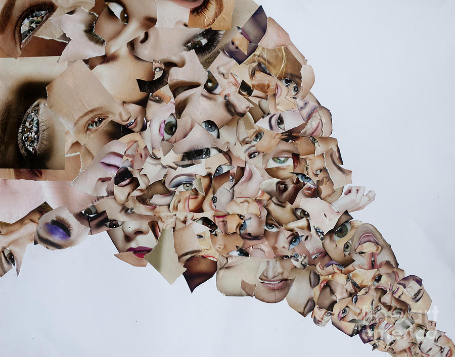 Collage Mixed Media - Crisis Line by Arvo Zylo