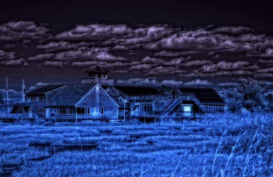 Infrared Photograph - Crisp by Thomas  MacPherson Jr