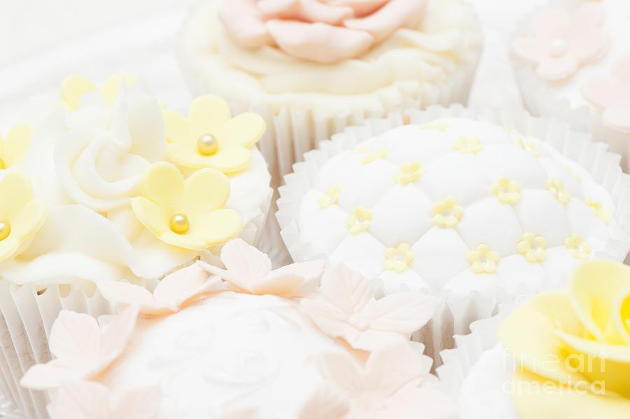 Cupcake Photograph - Criss-cross Cupcake by Anne Gilbert