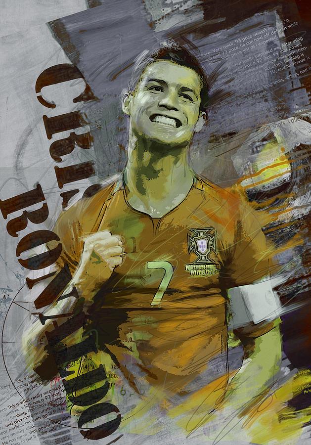 Cristiano Ronaldo Painting - Cristiano Ronaldo by Corporate Art Task Force
